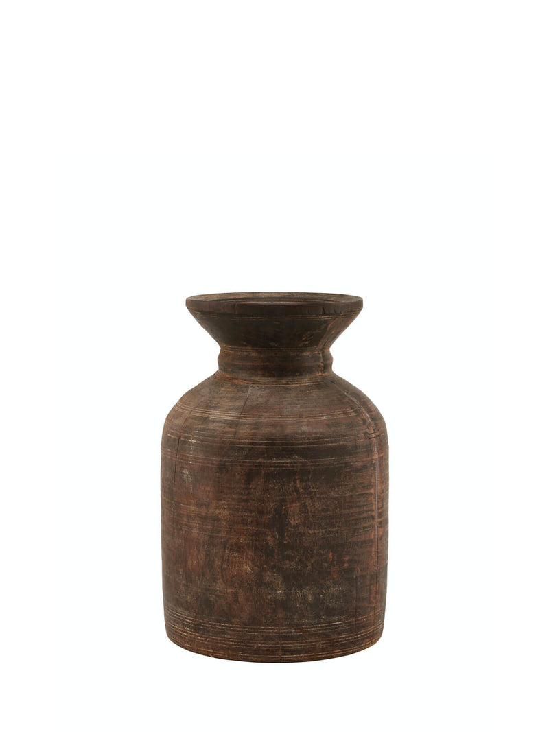 NEW: Tamau Wooden Vase Tall