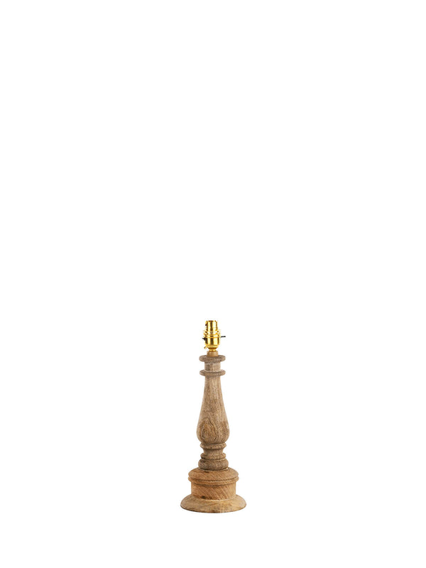 Turah Mango Wood Lamp Base