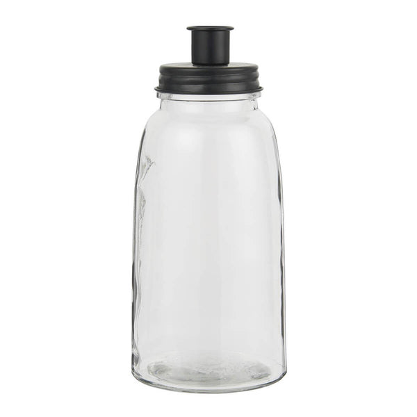 NEW: Vela Large Black Candle Jar