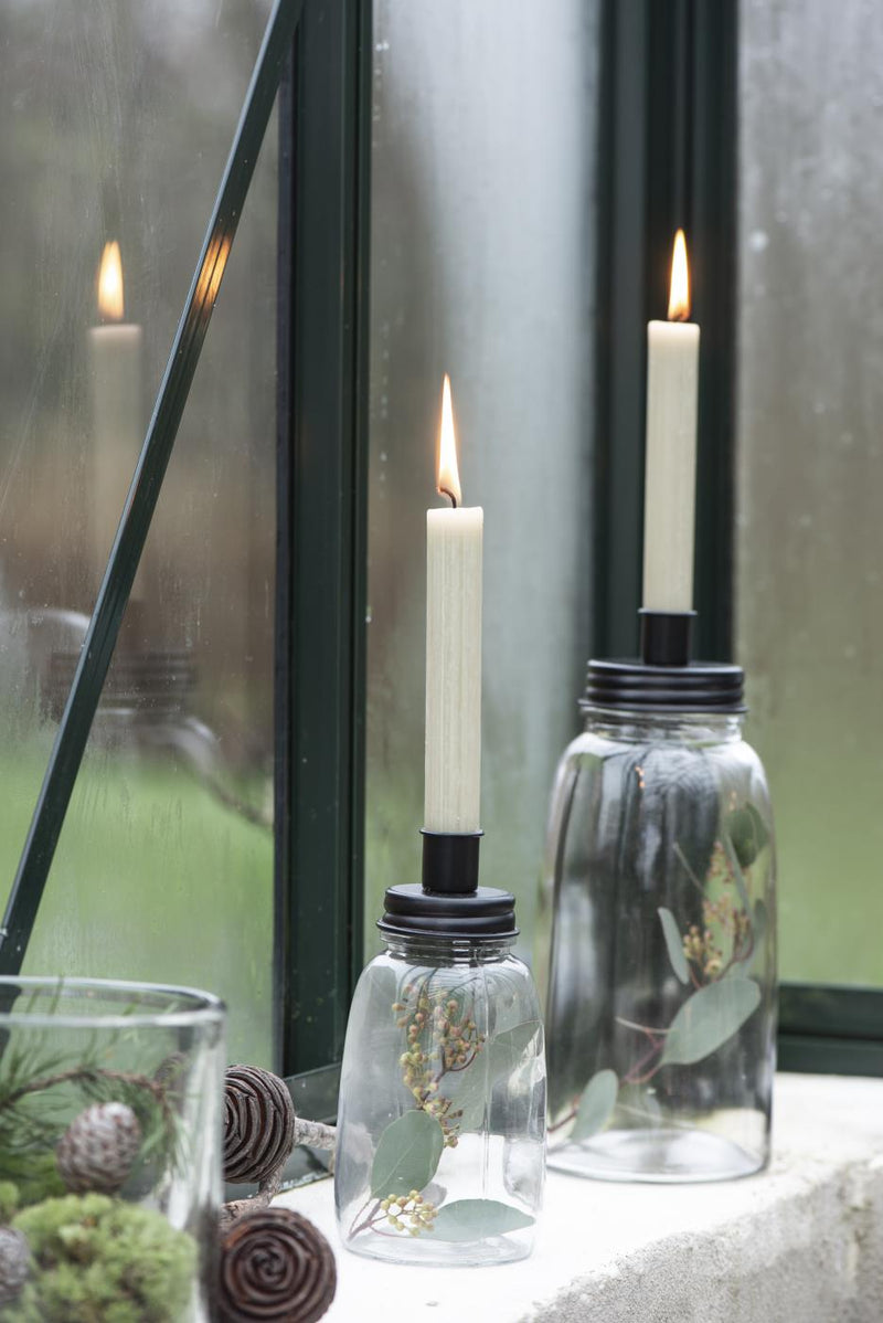 NEW: Vela Black Candle Jar