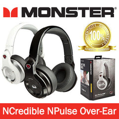 Monster Ncredible N-Pulse High Performance Over-Ear Stereo Headphones