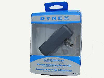 Dynex DX-UAC22 Dual USB Wall Charger