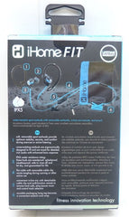 iHome IB21BLC Over-the-Ear Sports Headphones Black/Blue