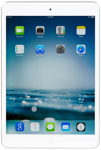 Apple iPad Mini 2nd Generation, 16 GB, White/Silver