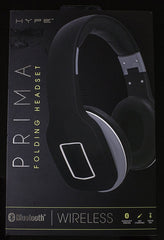 Hype Prima Bluetooth Wireless Folding & Collapsable Headphones