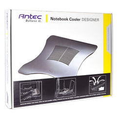 Antec Designer Notebook Cooler Pad w/110mm Fan (Charcoal Gray)