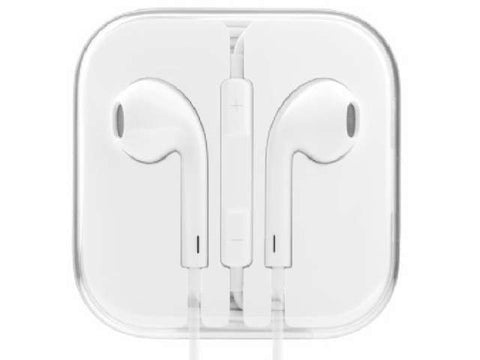 Apple MD827LL/A Earbud Headphones With Remote & Mic