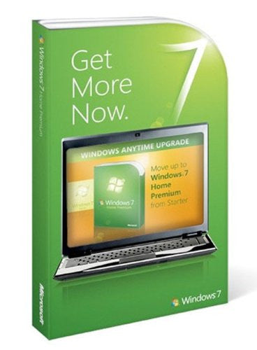 Microsoft Windows 7 Starter to Home Premium Upgrade