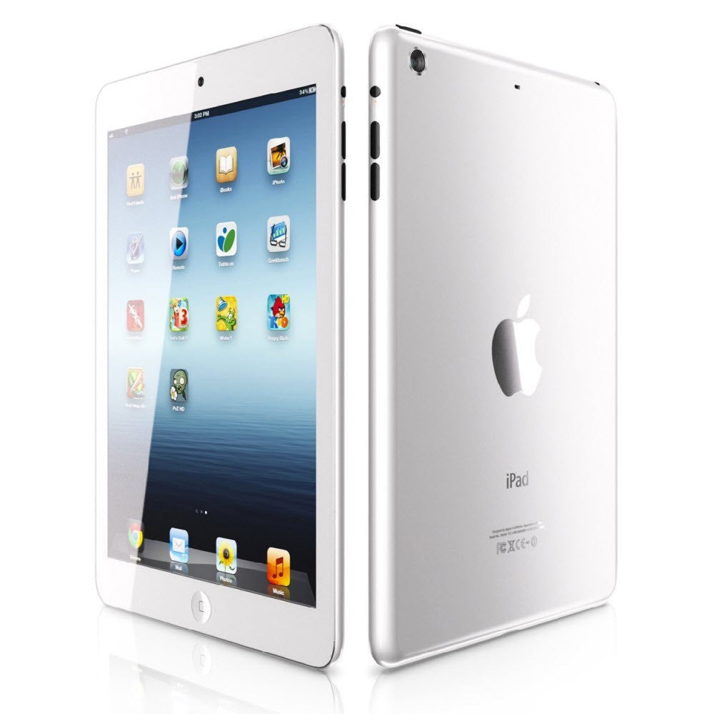 Apple IPad Mini 2nd Generation 16 GB White Silver The