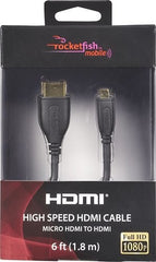 Rocketfish RF-BD38 6 ft. (1.8m) High Speed HDMI Cable
