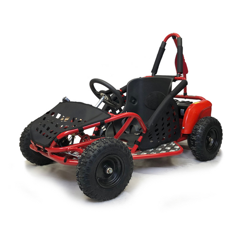 Storm Buggies - 1000w Kids Electric Go Kart - Red