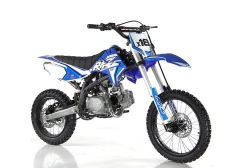 "Storm Buggies 140cc RFZ RACING™ Big Wheel 17/14"" Dirt Bike - Blue"