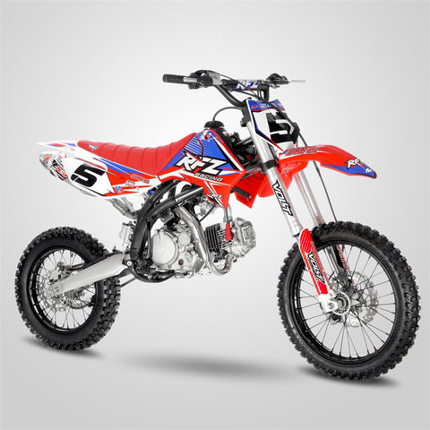 "Storm Buggies 140cc RFZ RACING™ Big Wheel 17/14"" Dirt Bike - Red"