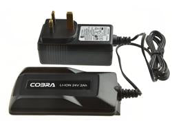 Cobra 24V 2AH LI-ION CHARGER