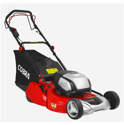 Cobra RM51SP80V 51CM SELF PROPELLED REAR ROLLER CORDLESS LAWNMOWER