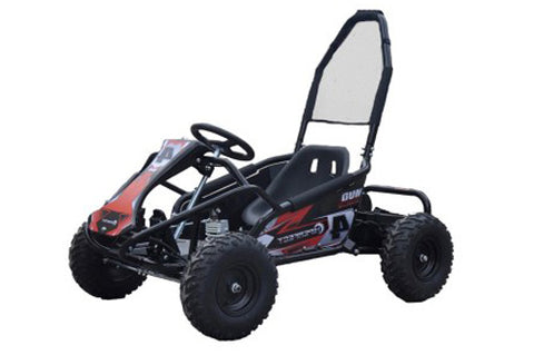 Storm Buggies - Black Mud Monster 1000w 20ah 48v Kids Electric Go Kart