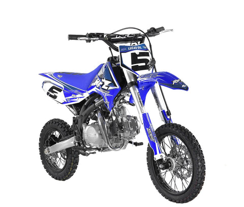"Storm Buggies Jaguar 125cc RFZ RACING™ Pit Bike 14""/12"" - Blue"