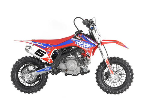 Storm Buggies Kids 60cc RXF Racing™ Mini Dirt Bike - Red