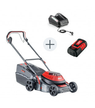 AL-KO Energy Flex Moweo 42.1 Li SP Self Propelled Battery Lawn Mower Kit