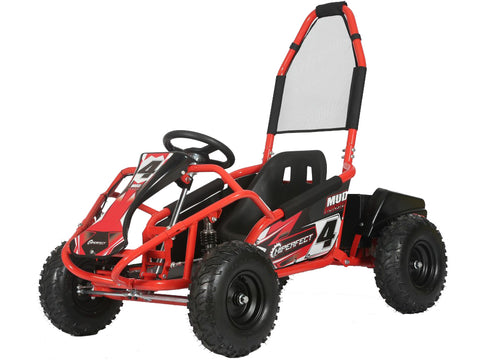 Storm Buggies - Red Mud Monster 1000w 20ah 48v Kids Electric Go Kart