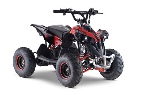 Storm Buggies - Renegade 1100w 48v Electric Kids Quad Bike - Red
