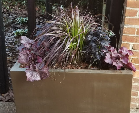 Fall urban planting container