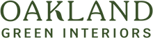 Oakland Green Interiors logo. Located in Columbus, Ohio.
