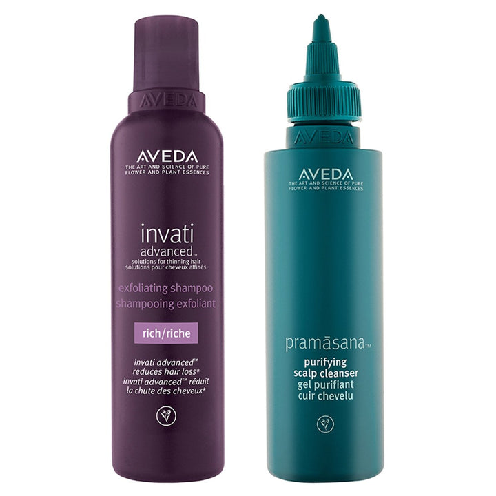 AVEDA - Scalp Bath Duo for thick, thinning hair - escentials.com