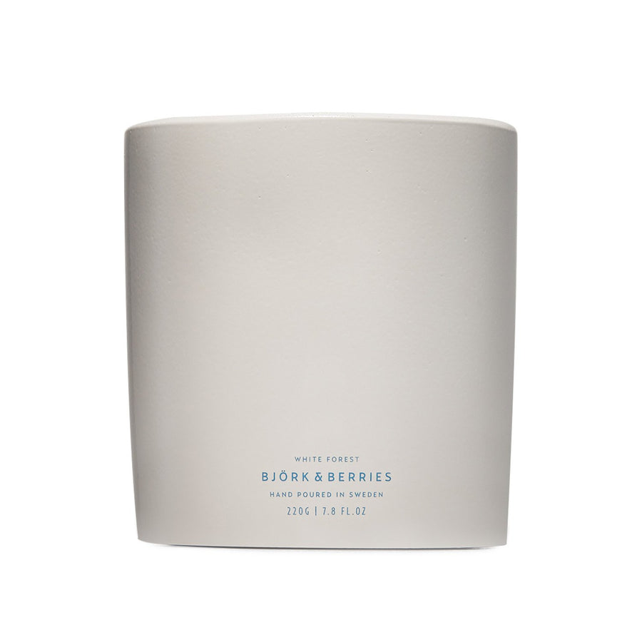 Björk & Berries - White Forest Scented Candle - escentials.com