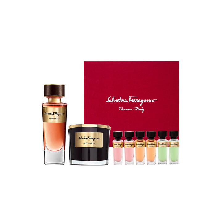 Salvatore Ferragamo - Tuscan Creations La Commedia Eau de Parfum 100ml Set - escentials.com