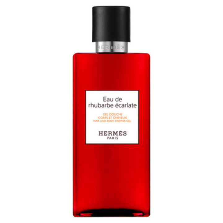 Hermès - Eau de Rhubarbe Écarlate, Hair and body shower gel - escentials.com