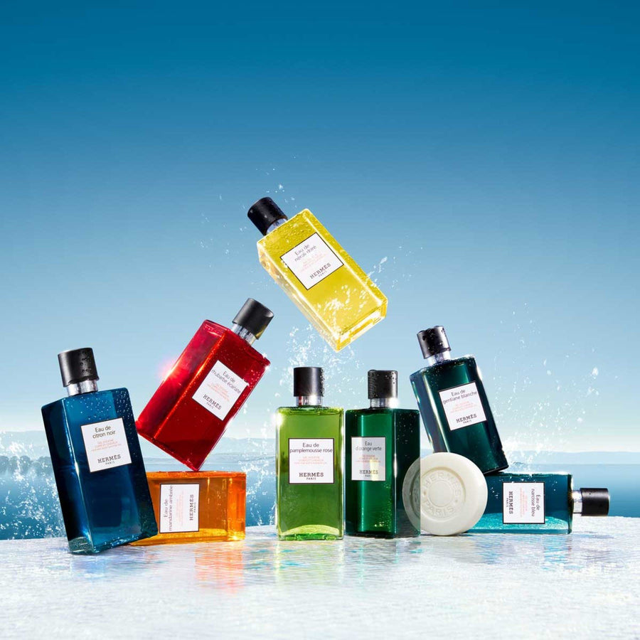 Hermès - Eau de Narcisse Bleu, Hair and body shower gel - escentials.com