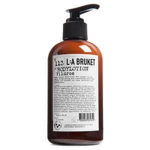 L:A Bruket - 113 Body Lotion Wild Rose - escentials.com
