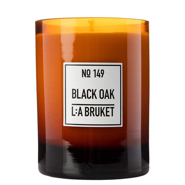 L:A Bruket - 149 Scented Candle Black Oak - escentials.com