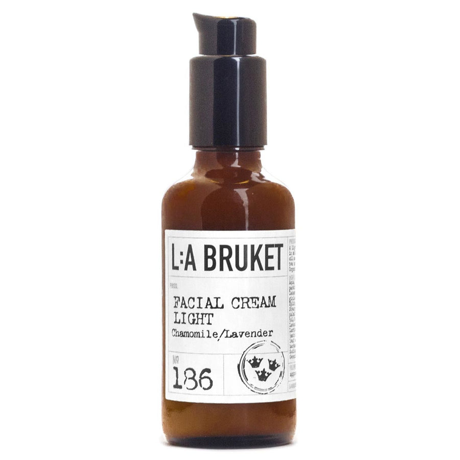 L:A Bruket - 186 Facial Cream Light Chamomile Lavender - escentials.com