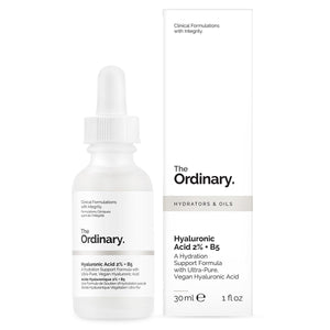 The Ordinary - Hyaluronic Acid 2% + B5, 30ml, Complimentary - escentials.com