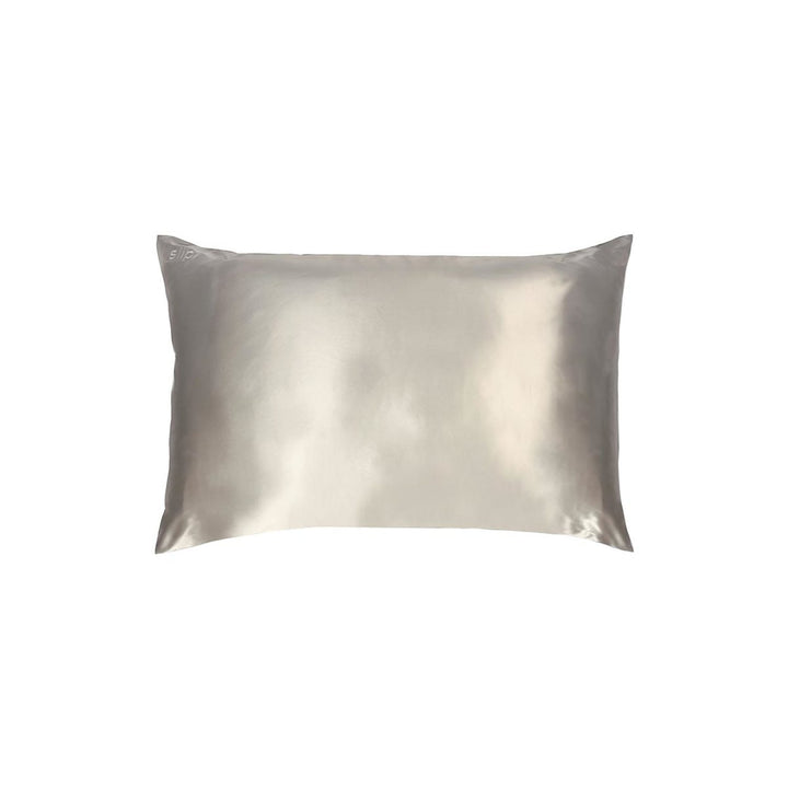 Slip - Pillowcase - Silver - King - escentials.com