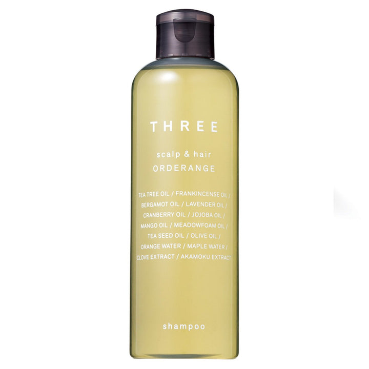 THREE - Scalp & Hair Orderange Shampoo - escentials.com
