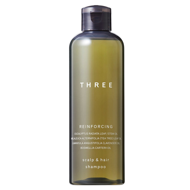 THREE - Scalp & Hair Reinforcing Shampoo - escentials.com