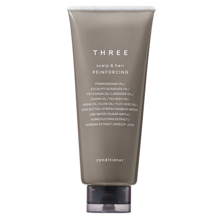 THREE - Scalp & Hair Reinforcing Conditioner - escentials.com