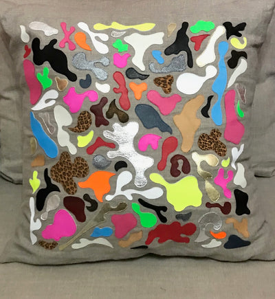 Mosaic pattern XL Pillow