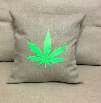 Marijuana Leaf - Green