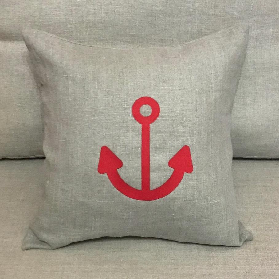 Red Anchor / Linen