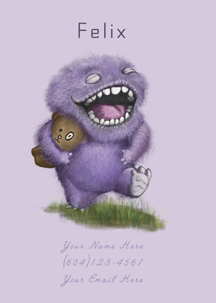 Joy Monster (purple)