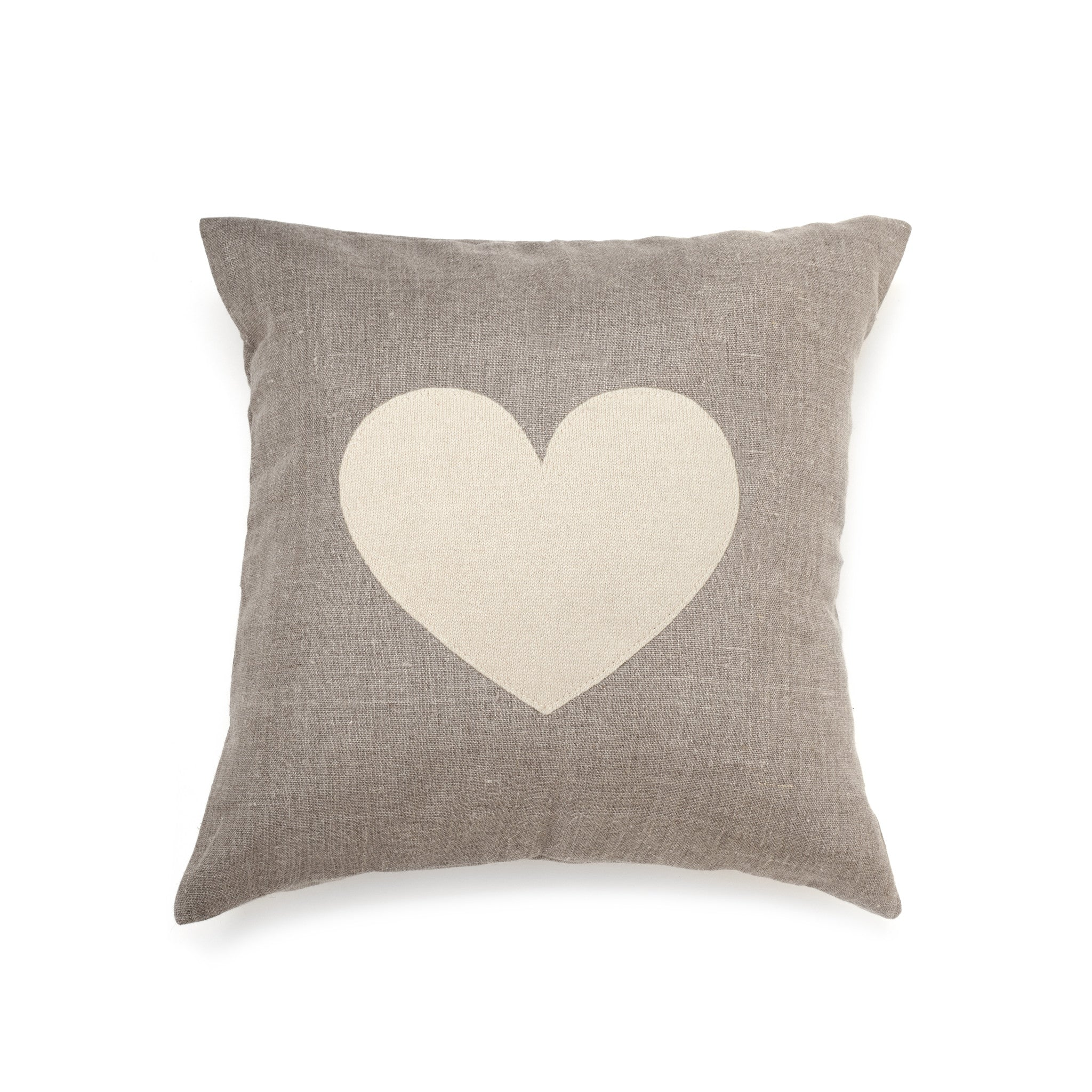Cashmere Cream Heart