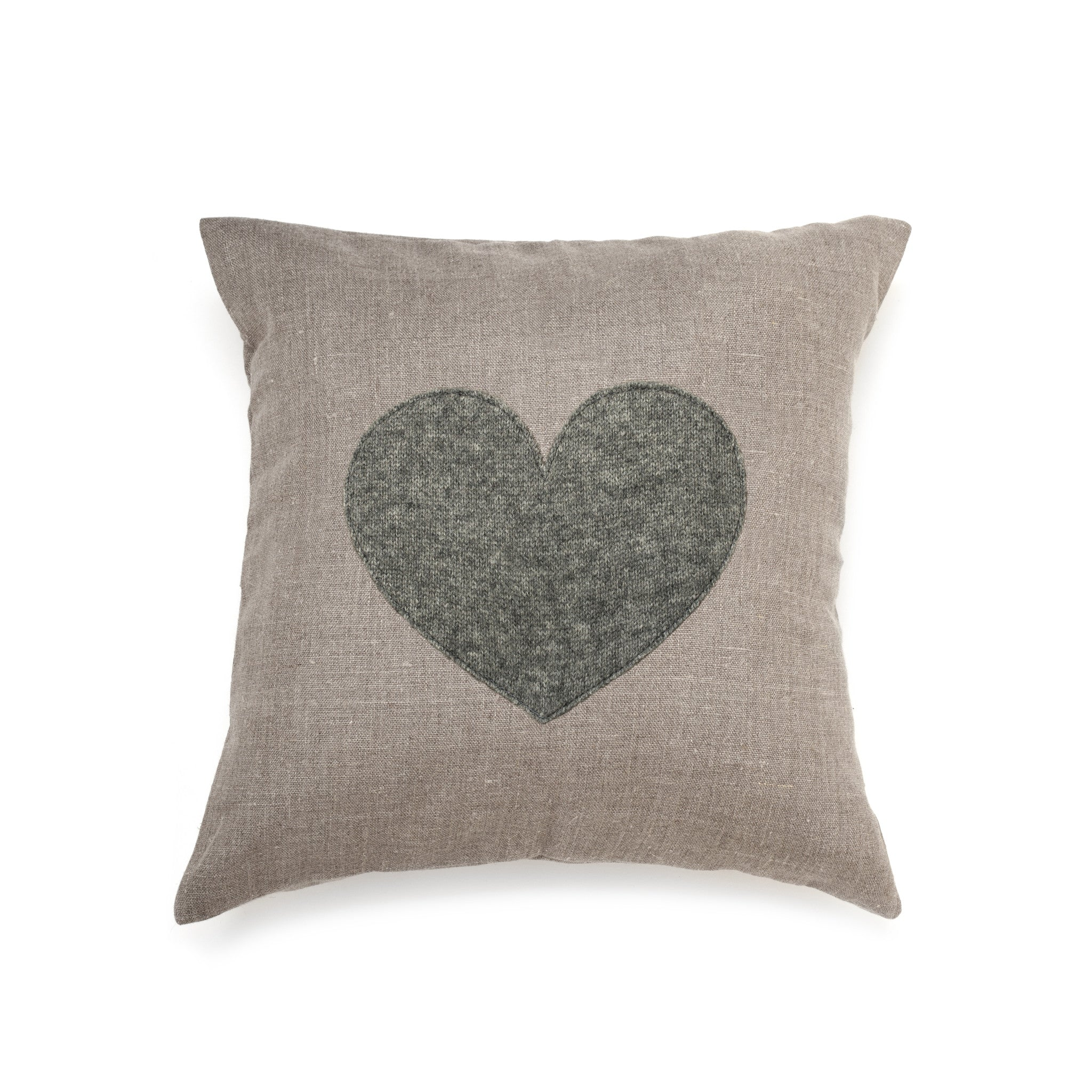 Cashmere Grey Heart