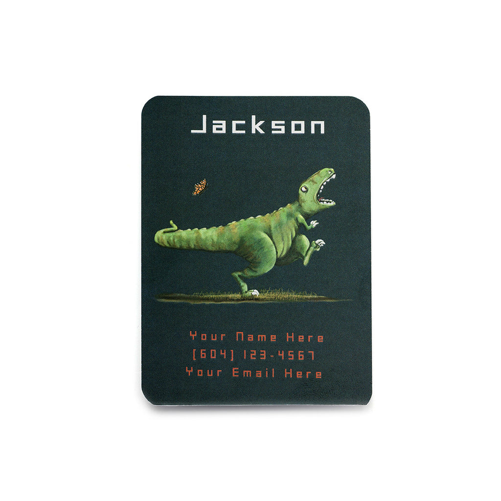 T Rex Play Date Card