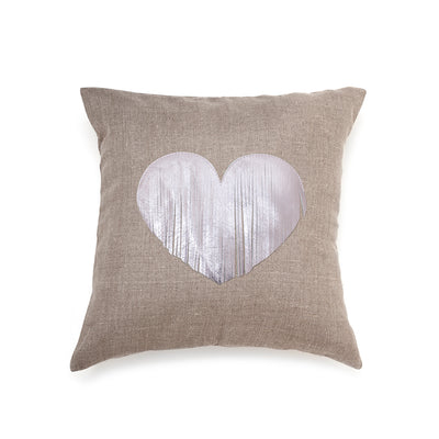 Fringe Heart - light pink