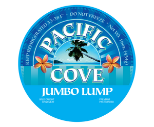 Premium Jumbo Lump, 1 Pound Can (6 Cans/Case)