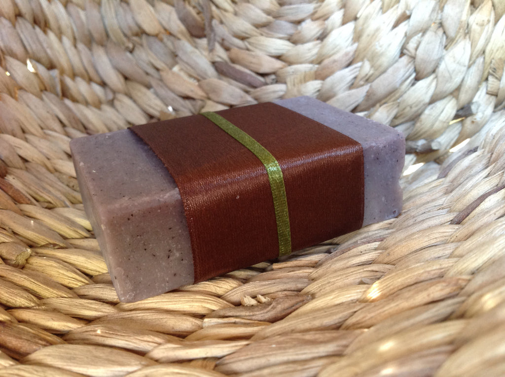 cedarwood and sandalwood soap. moisturising